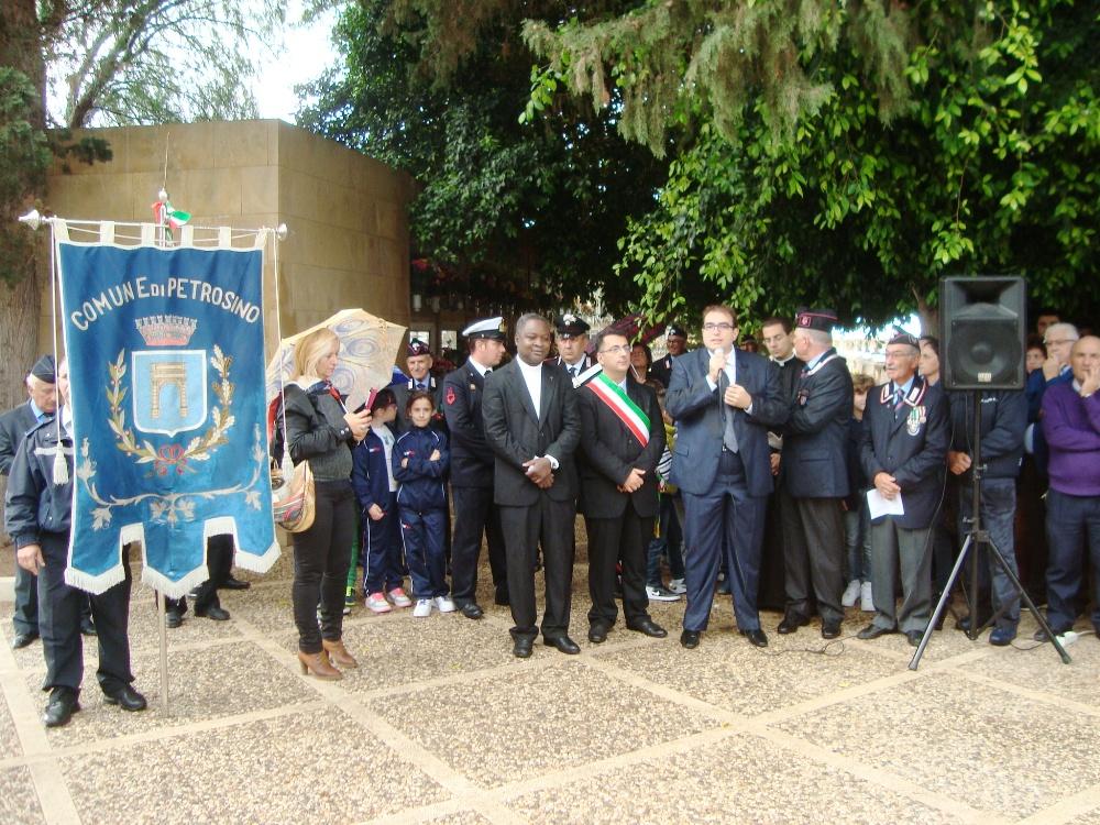 Petrosino: celebrata la Giornata delle Forze Armate e dell'Unità Nazionale