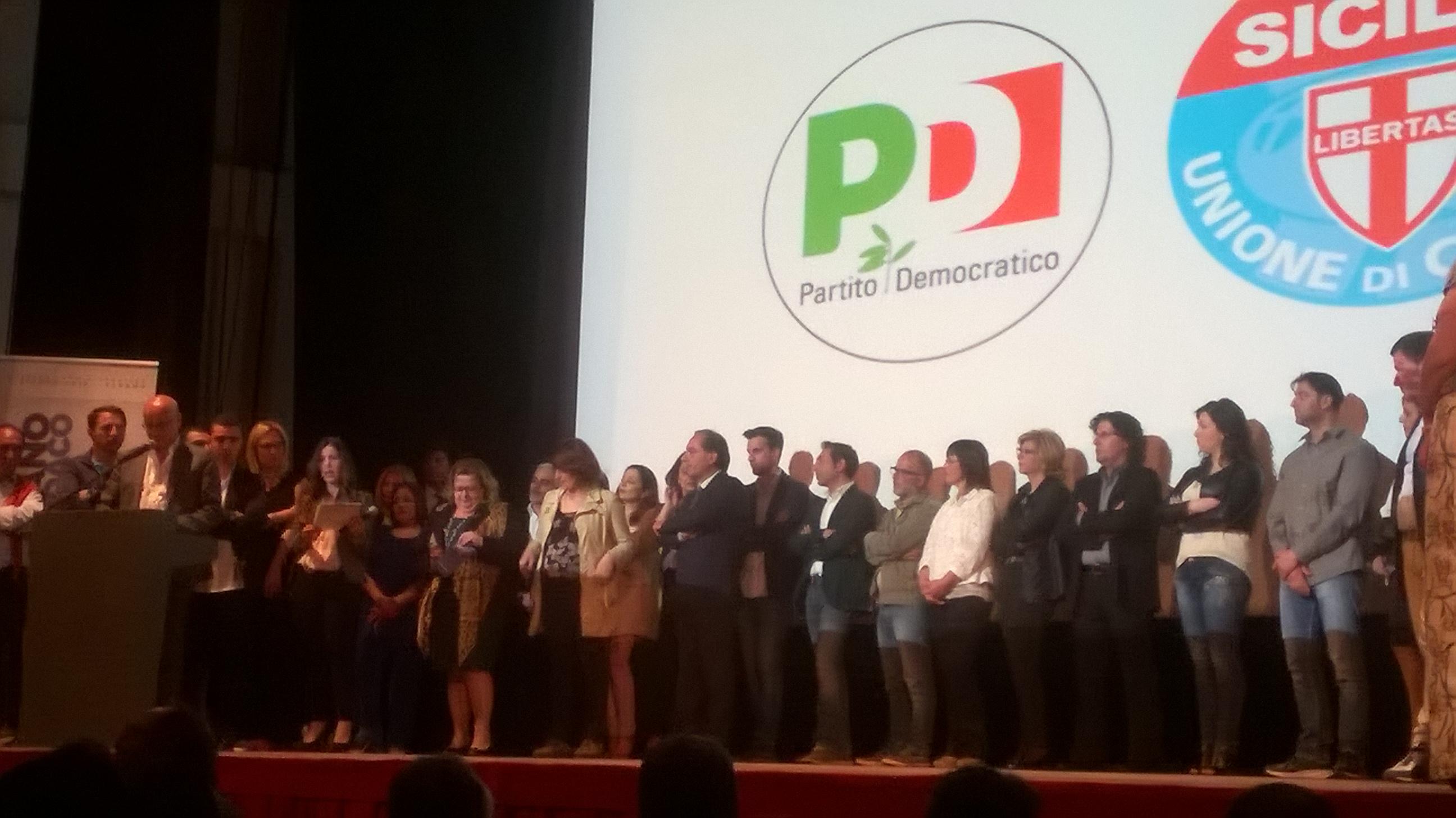 Alcamo: presentate le liste PD e UDC a sostegno della candidatura di Vincenzo Cusumano