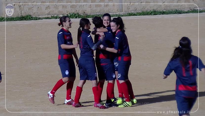 Flash di sport, vittoria con goleada per il Calcio Femminile. Test amichevole per il Marsala Futsal