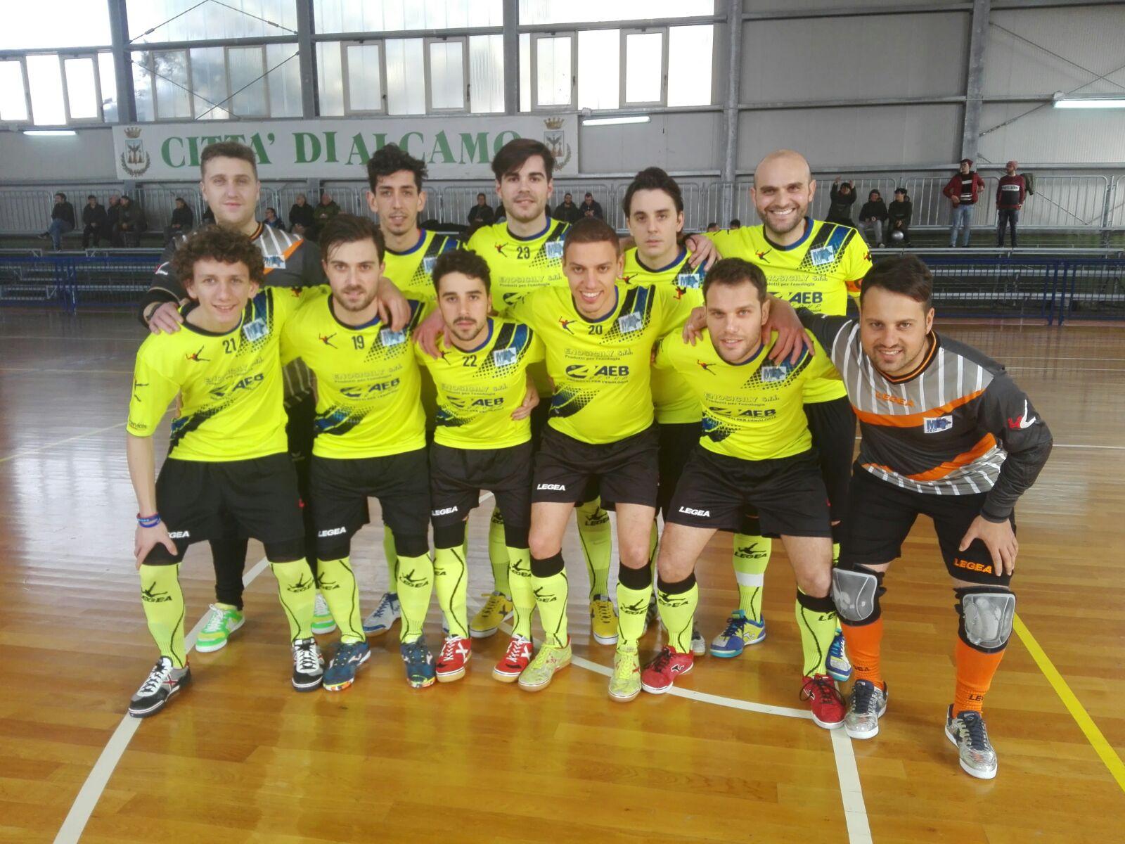 Serie C1: il Marsala Futsal sconfitto ad Alcamo