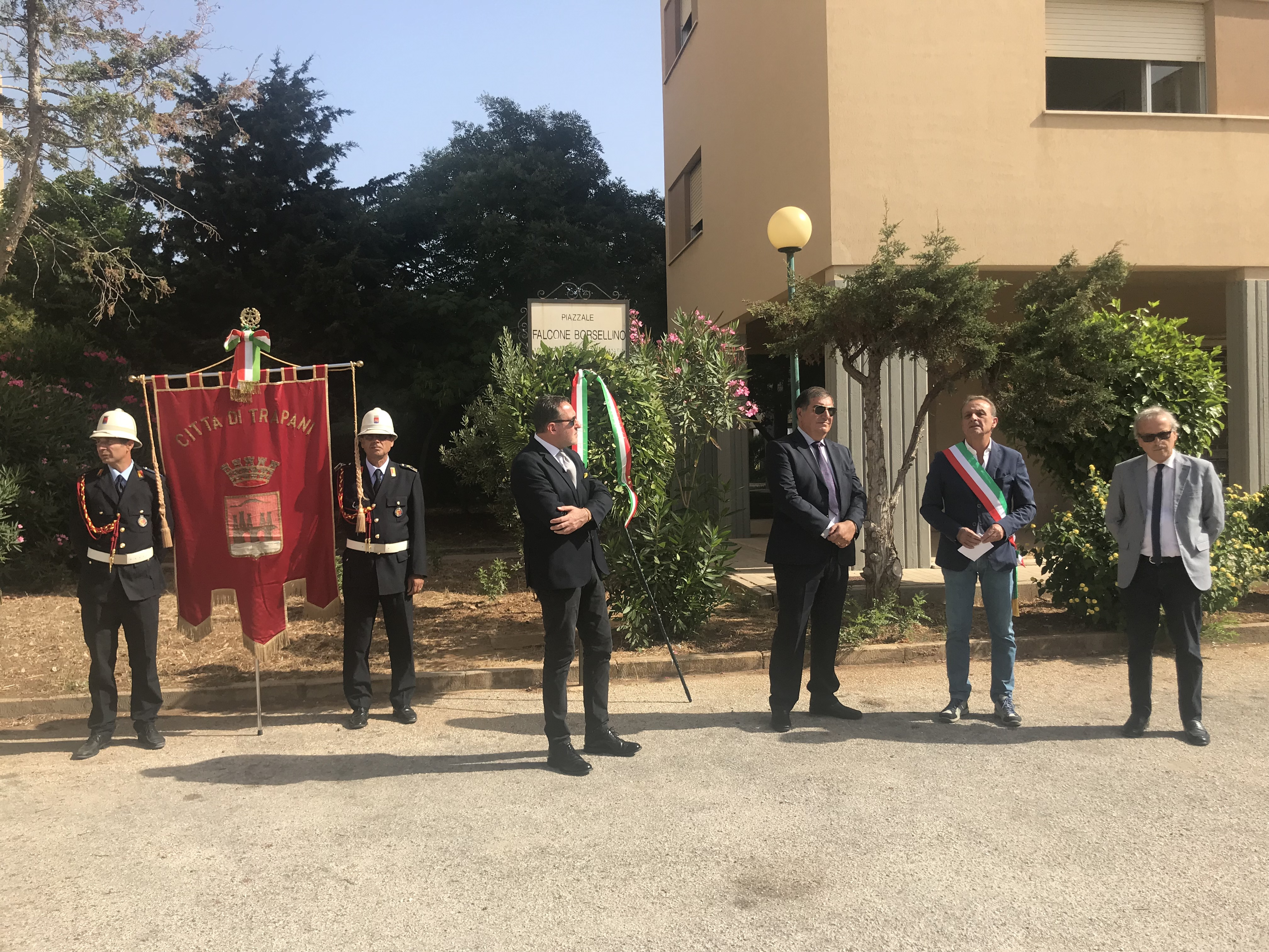 Anniversario della strage via D'Amelio: cerimonia commemorativa a Trapani