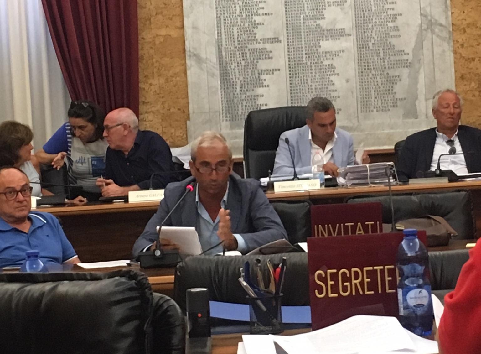 Consiglio comunale di Marsala: presentato il Piano Triennale delle Opere Pubbliche
