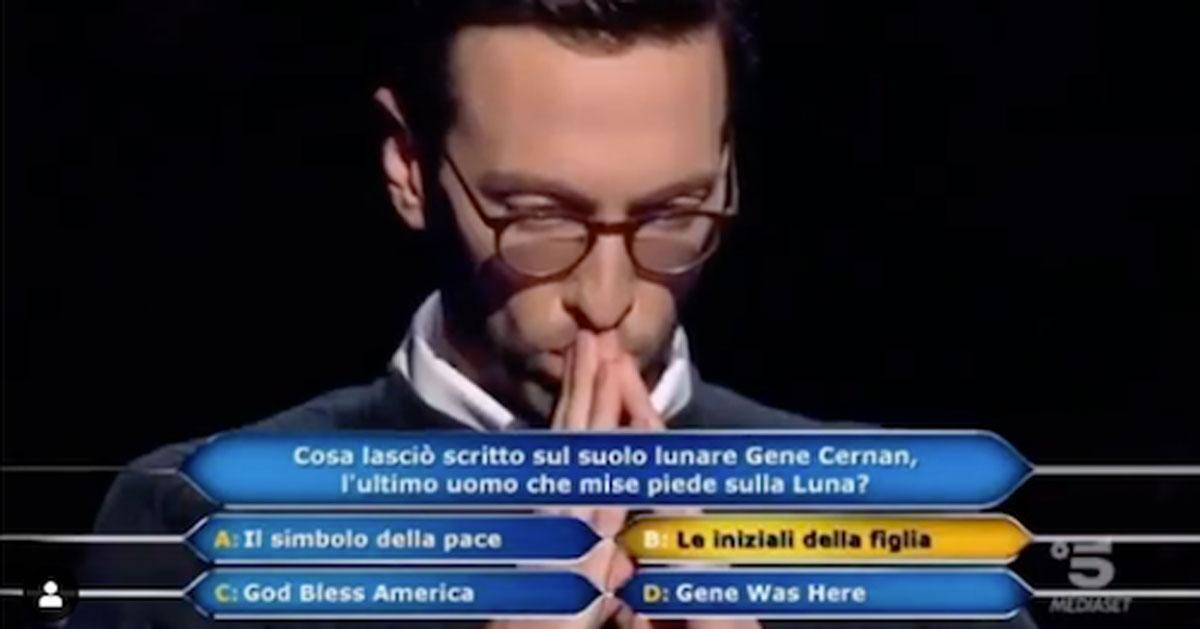 """A """"Chi vuol essere milionario"""" hanno vinto un milione di euro – il video"""