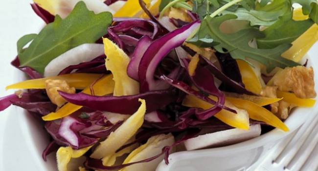 L'insalata a colori