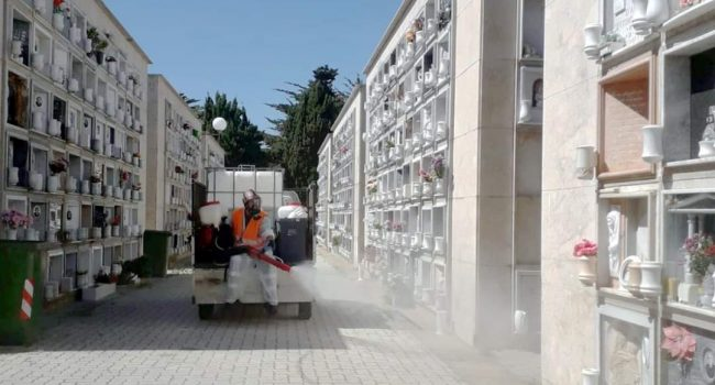 L'Esercito sanificherà vie del centro e cimitero di Marsala