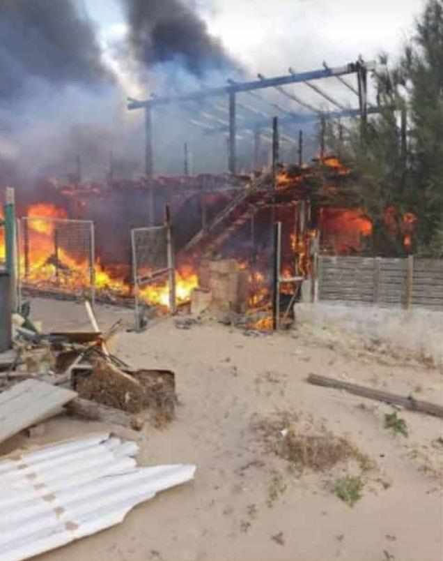 Incendio al lido Zelig, cause ancora da accertare