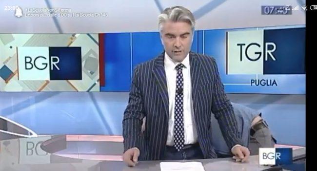 """Al TGr Puglia un """"piccolo"""" inconveniente tecnico"""