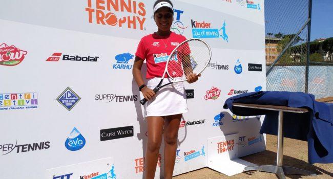 Astro Nascente del Tennis: la Marsalese Altea Cieno al Master internazionale di Nadal