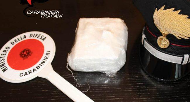Droga a Marsala: arrestati due catanesi con mezzo chilo di cocaina in auto