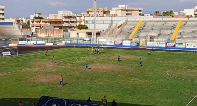 Il Marsala perde 3 a 0 in casa contro il Mazara | Coppa Italia