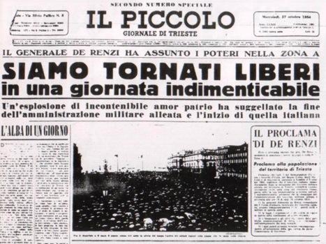 Accadde Oggi: il 26 Ottobre 1954 Trieste tornava Italiana