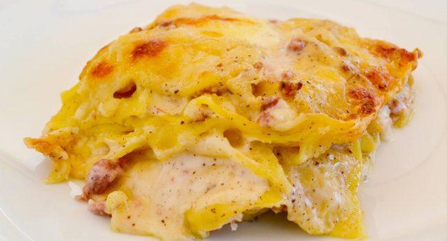 La lasagna cacio e pepe | Ricetta