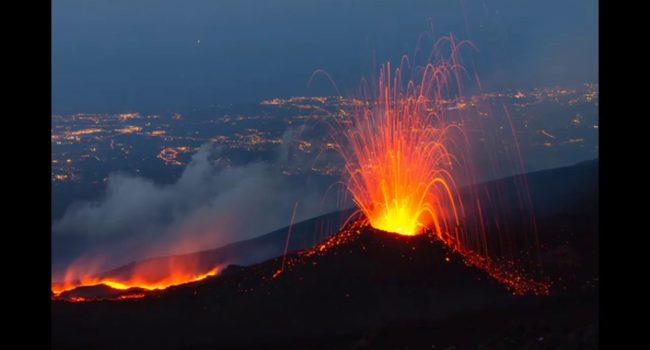 Eruzioni vulcaniche spettacolari: le 5 al top