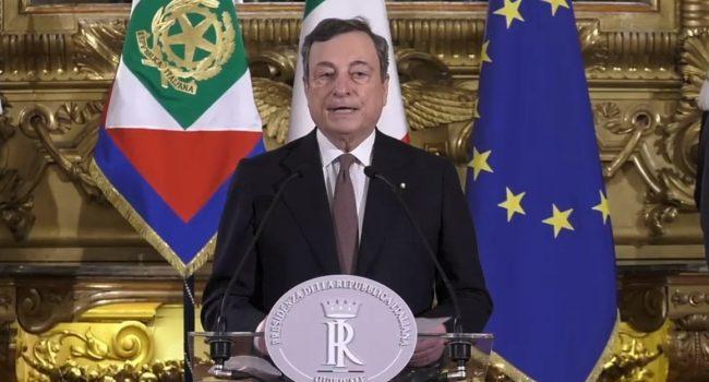 Musumeci augura buon lavoro al premier Draghi